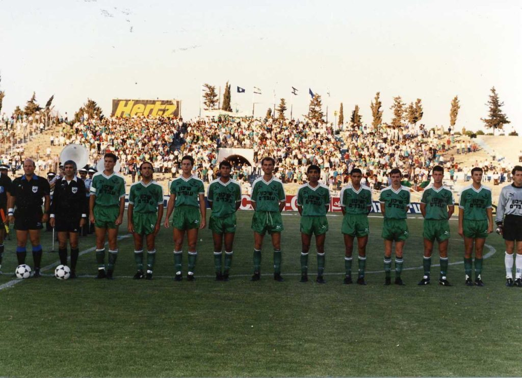 הרכב הפועל כפר סבא בגמר הגביע 1980