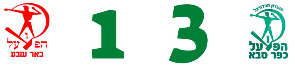 מחזור 23 הפועל כפר סבא הפועל באר שבע